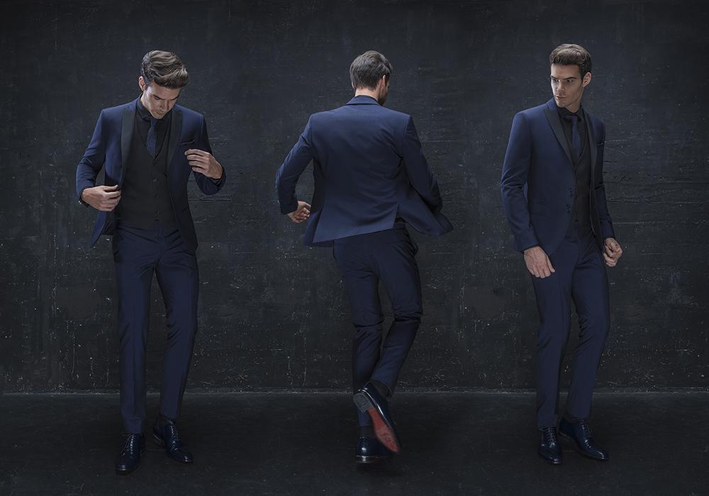 Moška maturantska obleka, moška poročna obleka, moška poslovna obleka