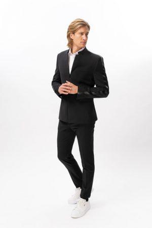 Ekološka poslovna poročna maturantska moška obleka